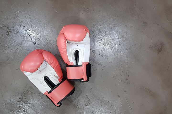 guantoni da box come metafora di tecniche cognitivo comportamentali