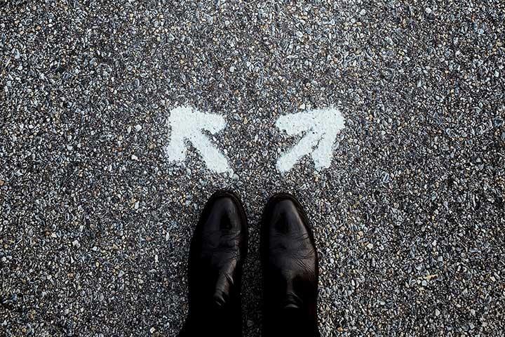 trovarsi d'avanti a un bivio nel scegliere lo psicologo giusto