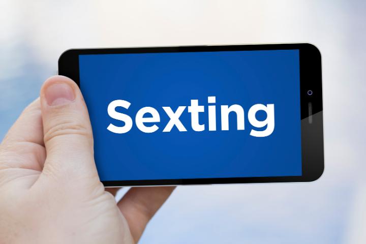 Rappresentazione della parola Sexting