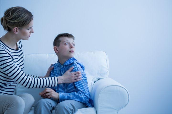 Bambino con Attacchi di Panico